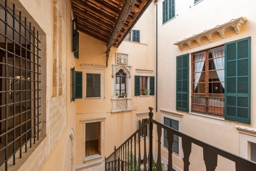 Exklusive Neubauwohnung in einem Herrenhaus aus dem Jahr 1810 in der Altstadt Palmas