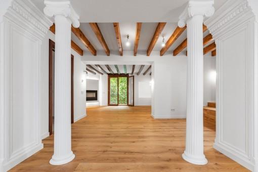 Exklusive Wohnung in Herrenhaus aus dem Jahr 1815 in der Altstadt Palmas