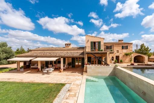 Wunderschönes Landgut in idyllischer Lage bei Campos