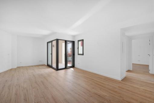 Heller Wohn- Essbereich