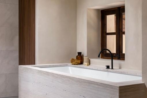 Ansicht des Badezimmer