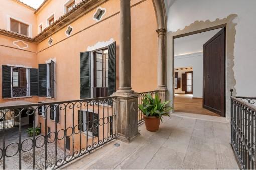 Schöner Eingang zur Wohnung
