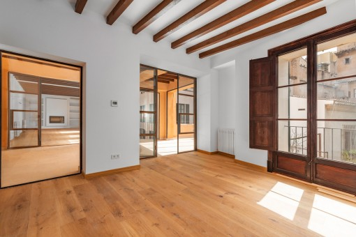 Räume mit 4 Meter hohen Decken