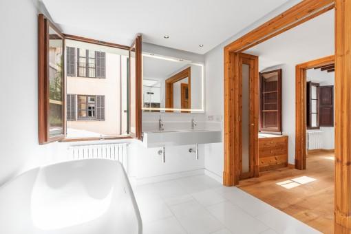 Luxuriöses en Suite Badezimmer