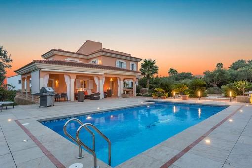Modernisierte Villa mit Pool und Ferienvermietungslizenz in Sa Torre