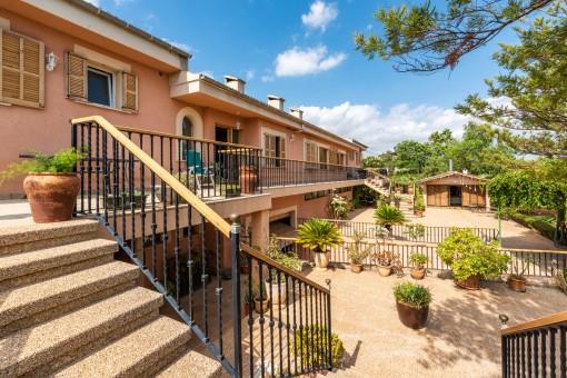 Aussergewöhnliche Immobilie mit viel Potenzial in Es Garrovers