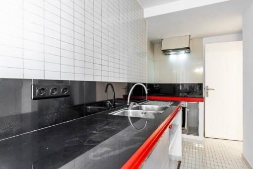 Separate Küche