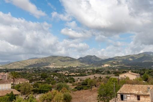 Blick aufs Tramuntanagebirge