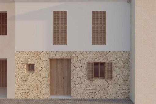 Außenansicht und Eingang
