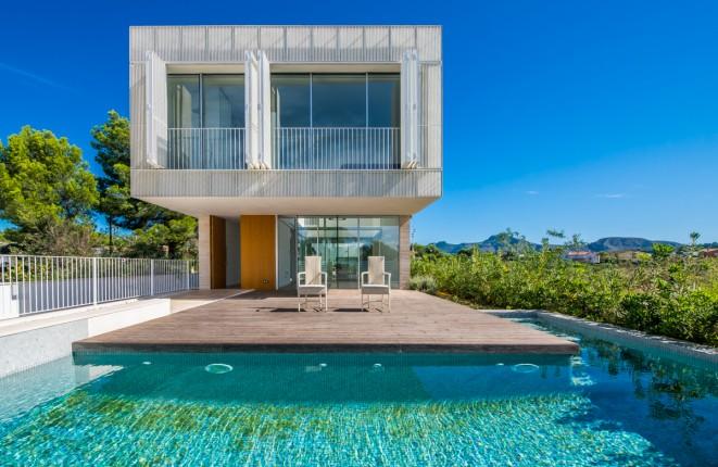 Geräumige Neubau-Villa mit Swimming Pool in ruhiger Umgebung in Manresa, Alcudia
