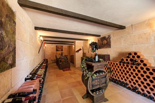 Mallorquinischer Weinkeller