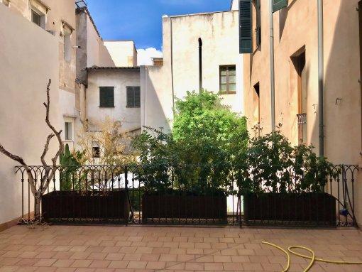 Stilvolles Altstadt-Apartment mit großer Terrasse nahe Plaza Cort in Palma