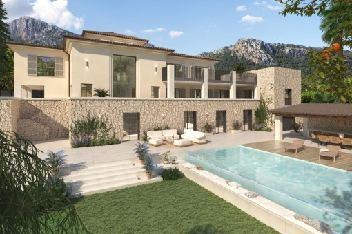 Luxusvilla mit Renovierungsprojekt in Valldemossa