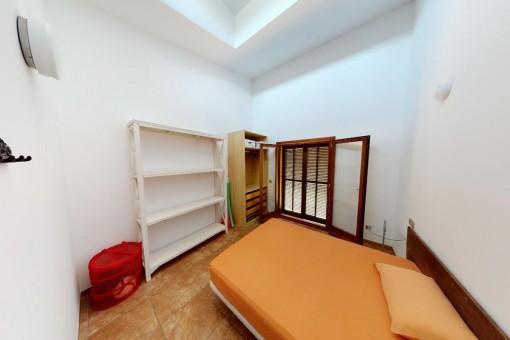 Drittes von drei Schlazimmern im Erdgeschoss