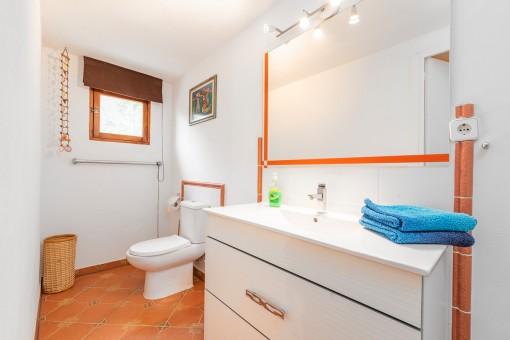 Badezimmer im Gästehaus