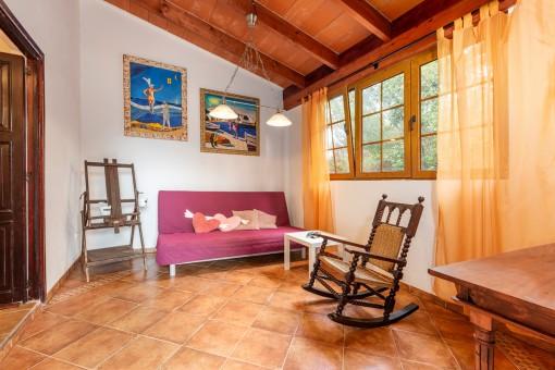 Gemütliches Gäste-Wohnzimmer