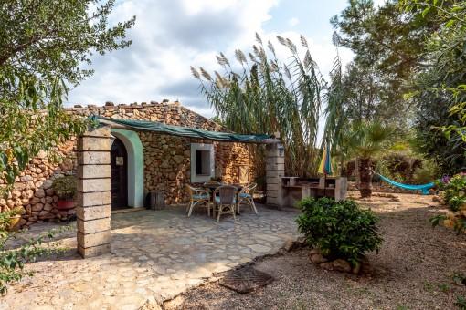 Idyllische Finca mit 5 Gästehäusern in Llucmajor