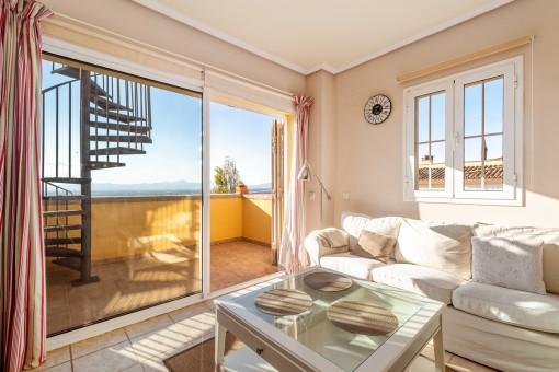 Penthouse in sehr schöner Wohnanlage in Golfplatznähe in Son Gual