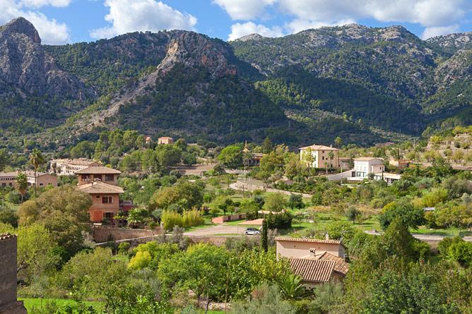 Tramuntana in northwest Mallorca
