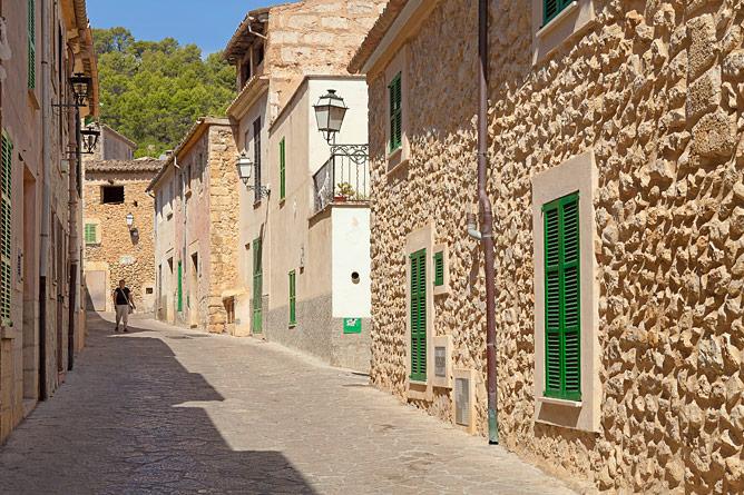 Straße in Mancor de la Vall