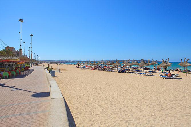 beach Playa de Palma
