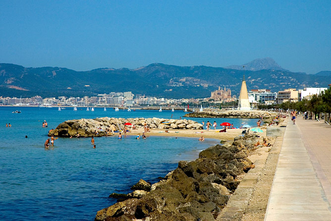 Promenade von Portixol nach Palma