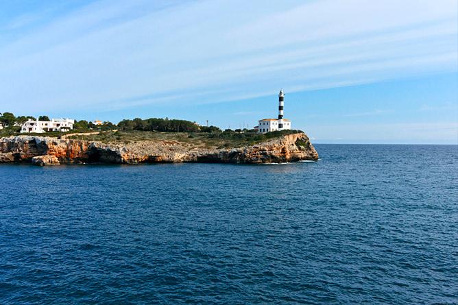 Küste Porto Colom