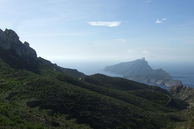 St. Elm - La Trapa - Blick auf Dragonera