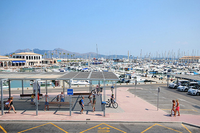 Real Club Nautic in Puerto Pollensa