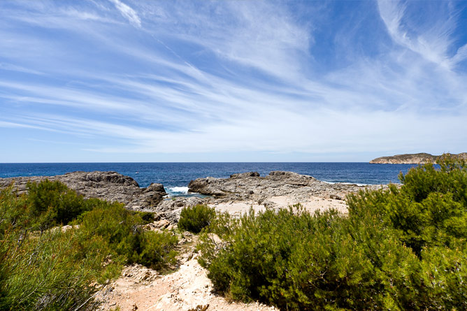 Coast of Santa Ponsa