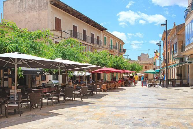 Plaza in Santanyí