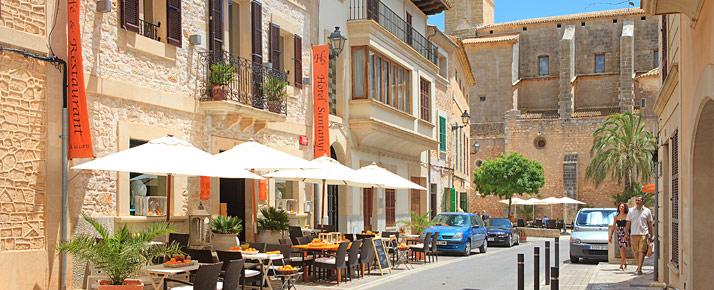 Santanyi a Majorque