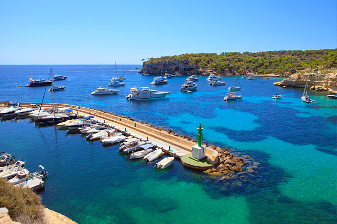 Marina in Sol de Mallorca