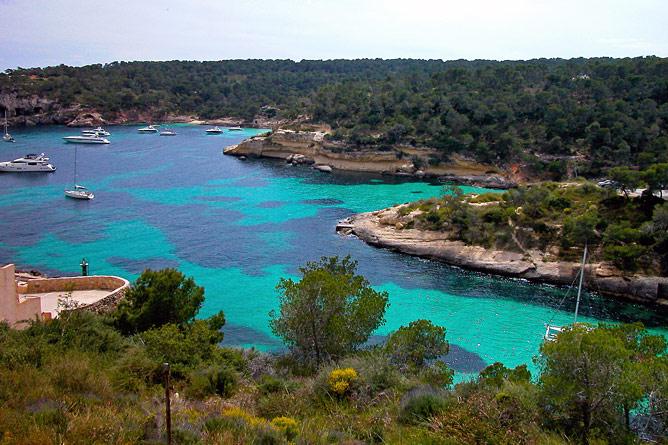 Küste von Sol de Mallorca