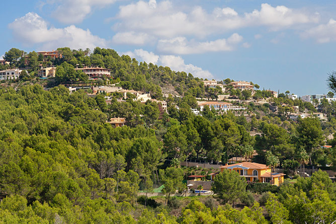 Luxusvillen in Son Vida auf Mallorca
