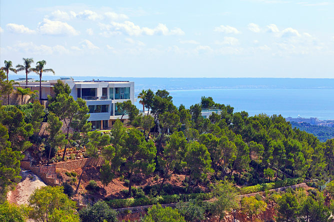villa with outstanding seaview